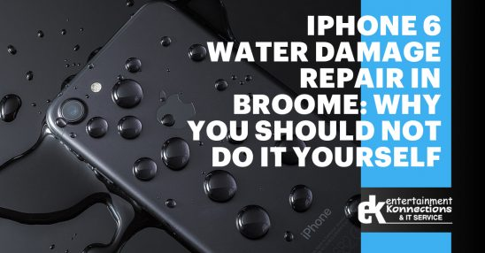 iPhone 6 Water Damage Repair in Broome: Why You Should Not Do it Yourself